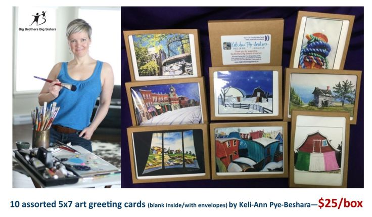 » Big Brothers Big Sisters Art Card Fundraiser in St. John's and Collingwood