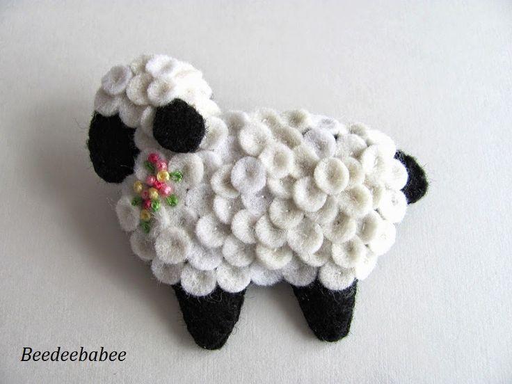 sheep pin