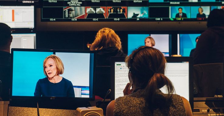 Judy Woodruff, the Woman of the Hour - The New York Times