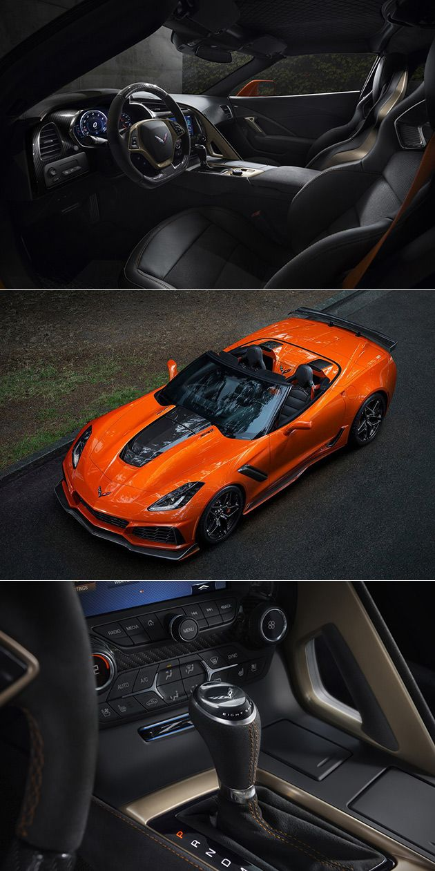 2019 Chevrolet Corvette ZR1 Convertible Has Loudest Exhaust Yet Thanks to 755HP LT5 Engine