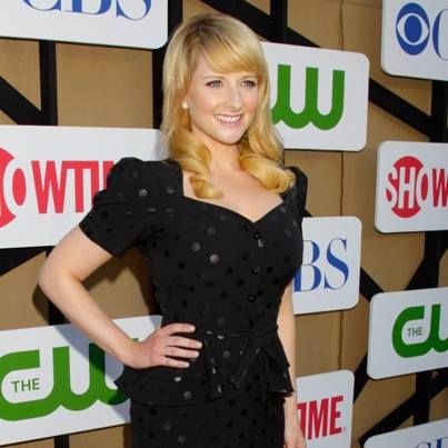 The beautiful Melissa Rauch