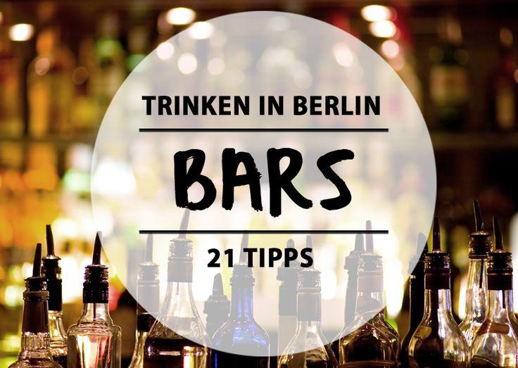 Wenn ihr mal wieder stilvoll ein paar Cocktails und Longdrinks zur Einstimmung süppeln wollt, dann seid ihr in diesen 21 Bars wirklich gut aufgehoben.