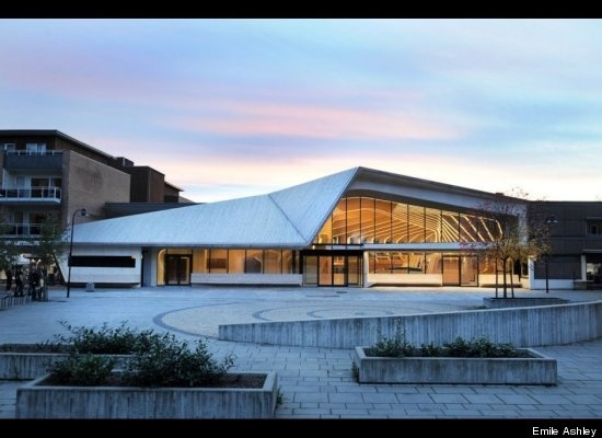 IS the Vennesla Library the most beautiful library in the world?