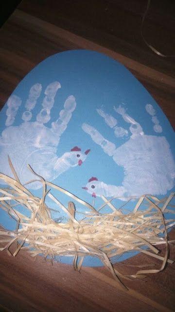 Familie und mehr : Bastelideen für Ostern