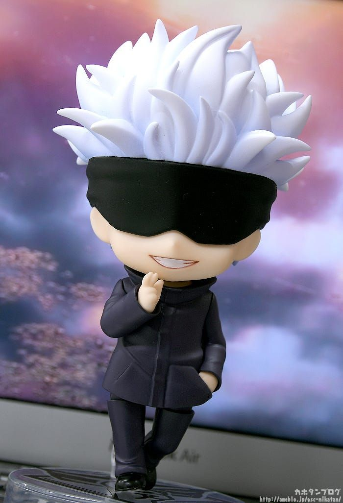 Today S Main Feature Hello Everyone Kahotan Here Gsc Kahotan Today I Ll Be Taking A Look At Nendoroid Satoru In 2021 Nendoroid Anime Nendoroid Anime Figures