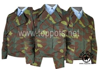Reproduction WWII German Heer Italian Camouflage M1941 Panzer Wrap Uniform Tunic World War 2 Two WW2 sale clothing cheap sale reenacting reenactment reenactor airsoft jacket