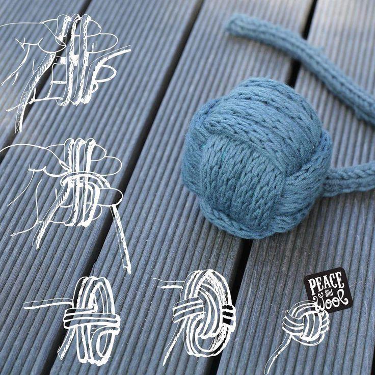 Boule en tricotin