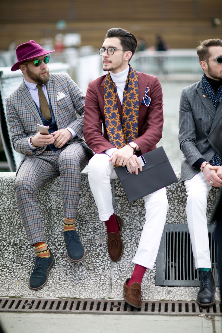 Street fashion: Firenze Pitti Uomo jesień-zima 2016/2017, fot. Imaxtree