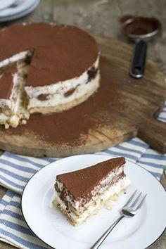 Tiramisu Cheesecake | via brendakookt.nl