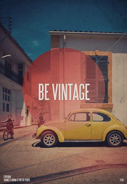Be Vintage Love Bug