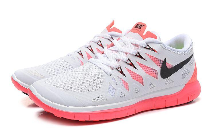 Nike Free 5.0 2014 Womens Light Grey Hot Pink 642198 610  #cheap #nike #frees