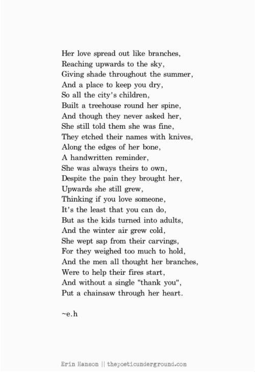 erin hanson poems - Bing Images