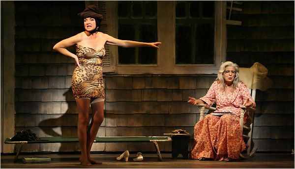 "Broadway Season -Christine Ebersole, left, and Mary Louise Wilson in ""Grey Gardens."""