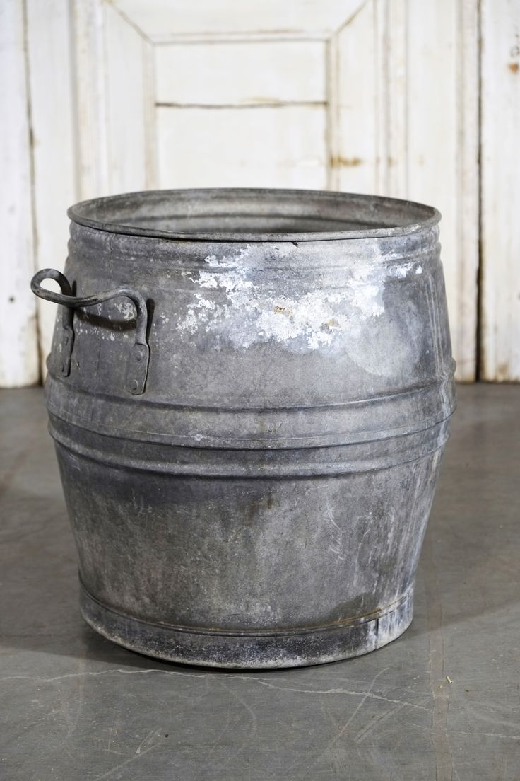 British Zinc Washtub
