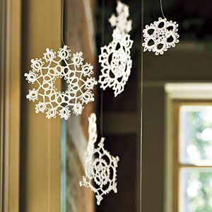 Scottish Open House Decorating Projects | Heirloom Snowflakes | SouthernLiving.com