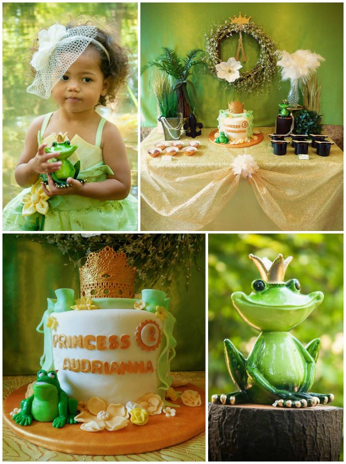 Princess and the Frog Birthday Party. This is so beautiful! I especially love the wreath.