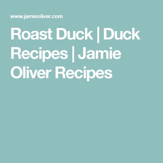 Roast Duck | Duck Recipes | Jamie Oliver Recipes