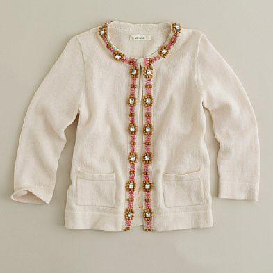 Разница в одном - платье Вайолет дополняют кардиган, украшенный бисером и стразами + коричневые леггинсы, белые носки...