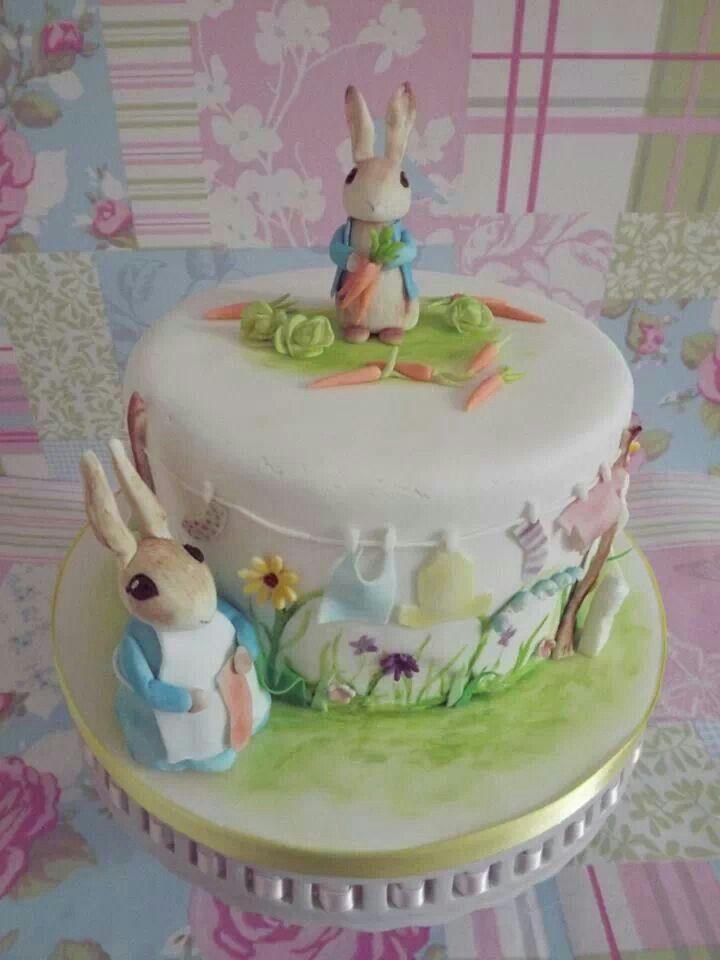 Peter Rabbit Edible Cake Decorations
