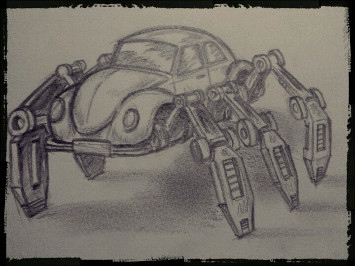 My version of the VW Beetle. Oh what I'd do to have one like that. *sigh*
