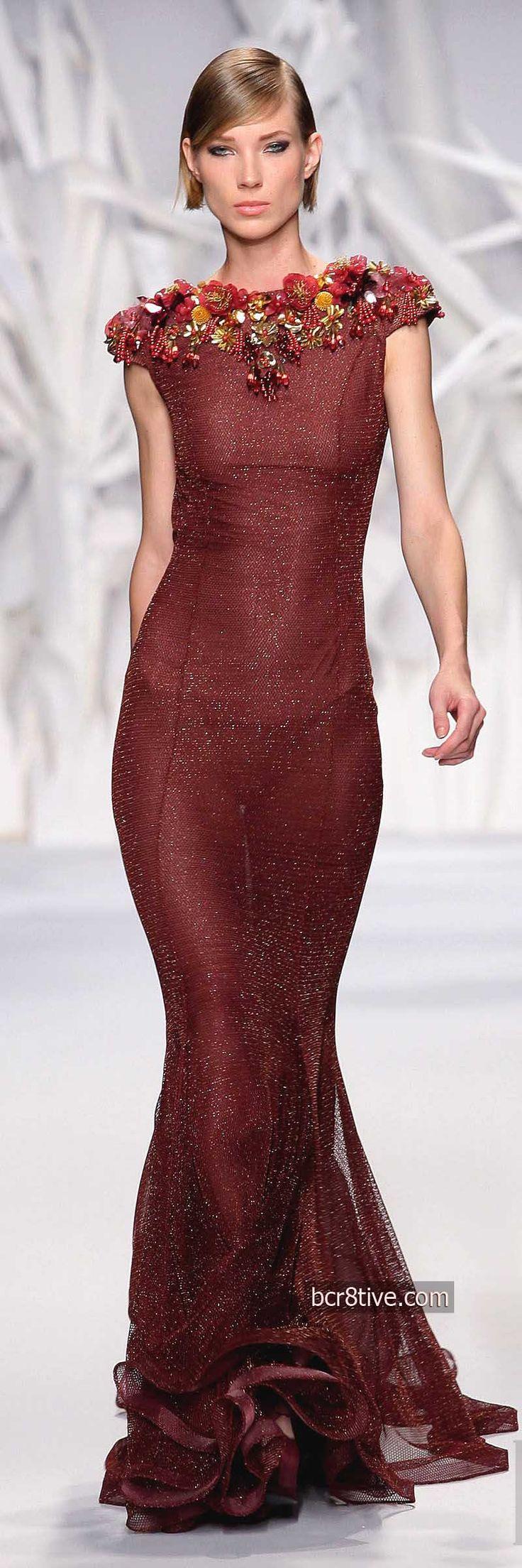 Abed Mahfouz Fall Winter 2014 Haute Couture www.scuoladiricam... Corsi per stilisti di moda a Roma
