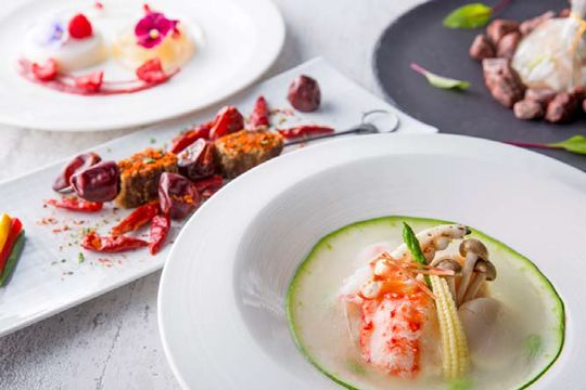 ヒルトン東京三国志をテーマにしたコースを中国料理王朝にて期間限定提供