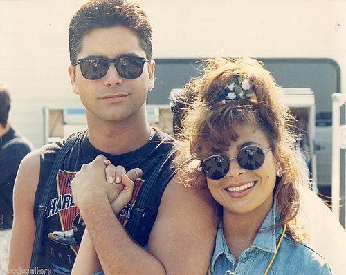 John Stamos & Paula Abdul, 1991