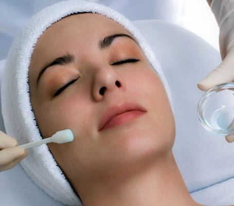Chemical peels can be done on the face, neck and hands in order to reduce fine lines around the eyes and mouth, wrinkles, sun damage, age spots, mild scars, acne and freckles.