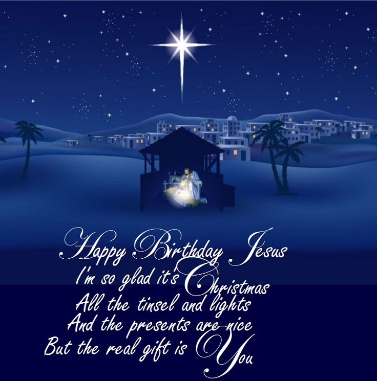Happy Birthday Jesus (song) - https://youtu.be/baE9nWXhjwk -  Happy Birthday, Jesus Jesus I love You