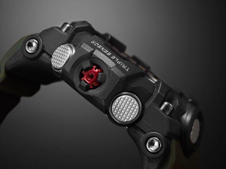 Conçues pour affronter les éléments: les montres de la collection MUDMASTER de G-SHOCK impressionnent grâce à leur design et à leur technologie qui leur permettent de fonctionner même dans les conditions les plus extrêmes.