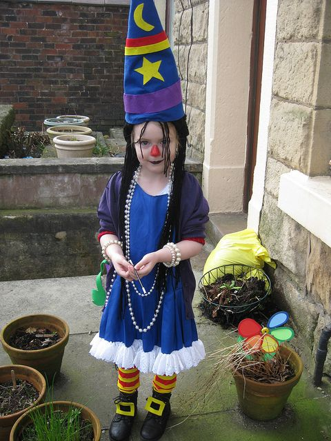 Kirsten S Winnie The Witch Costume For World Book Day