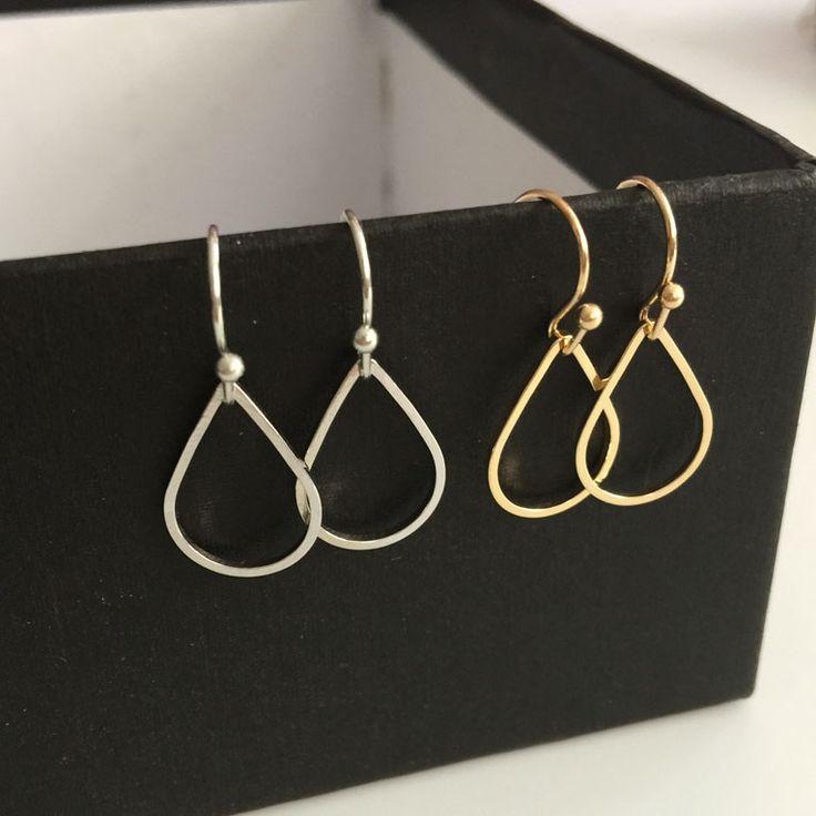 Ms. wholesale earrings small teardrop-shaped ear ornaments like earrings female students