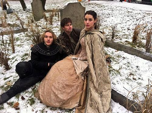 Toby regbo torrance coombs and adelaide kane behind the scenes of