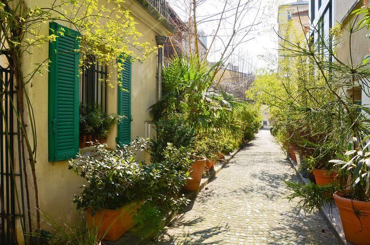 Impasse Deligny, 75017 Paris  Métro : Brochant, Guy Môquet ou Porte de Saint-Ouen