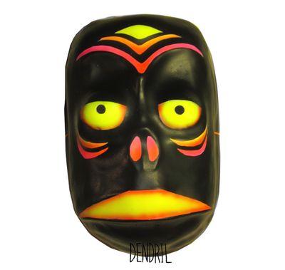 Neon Tiki Mask from Dendril's Bazaar