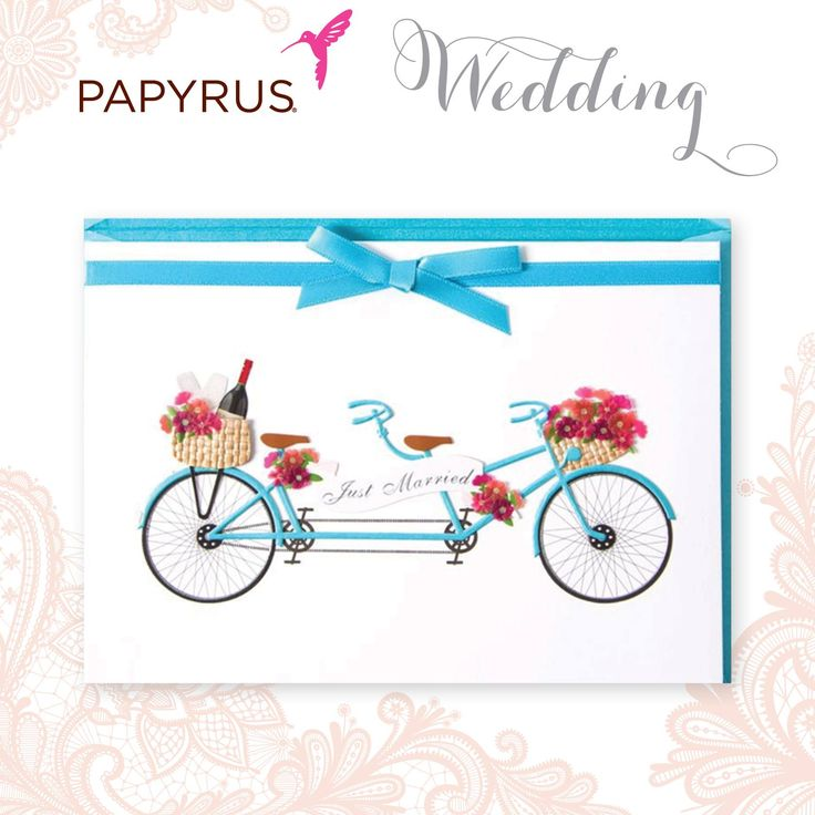 Together for ever! #wedding #Papyrus #Bike #HappilyEverAfter