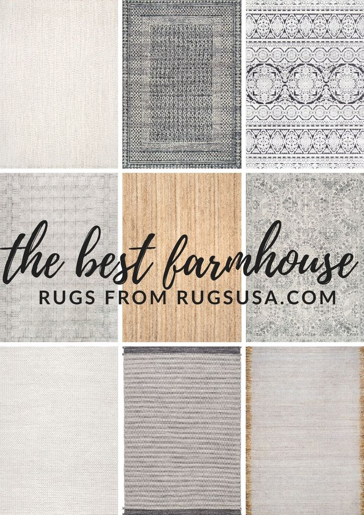 Top 9 Cozy Farmhouse Rugs Farmhouse Rugs Farmhouse Style Rugs Farmhouse Area Rugs