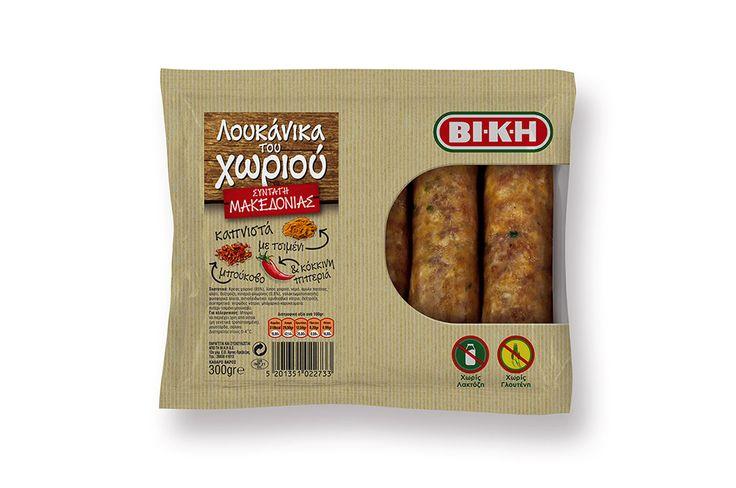 VI.K.I. Sausages Packaging Makedonias Recipe