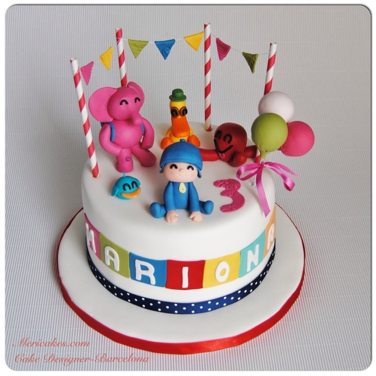 Party Pocoyo cake   #cake #Pocoyo #kids #carrotcake