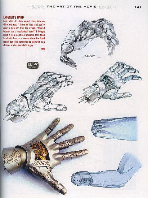 Hellboy - Kroenen Hand | par Contumacy Singh