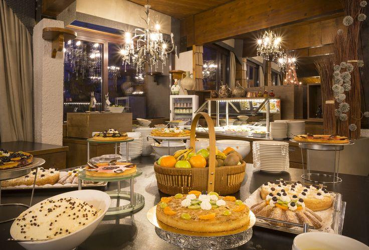 buffet de desserts @hotel new solarium courchevel