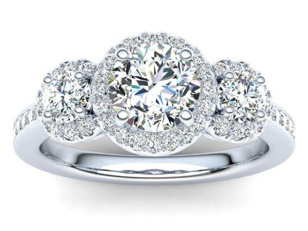 R134 Dawn Diamond Engagement Ring
