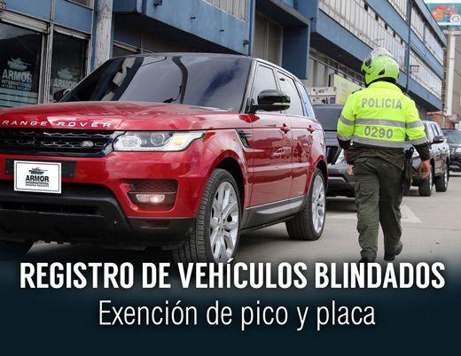 Inscripción de Blindados en la Secretaría de MovilidadArmor International ::: Blindajes de máximo desempeño