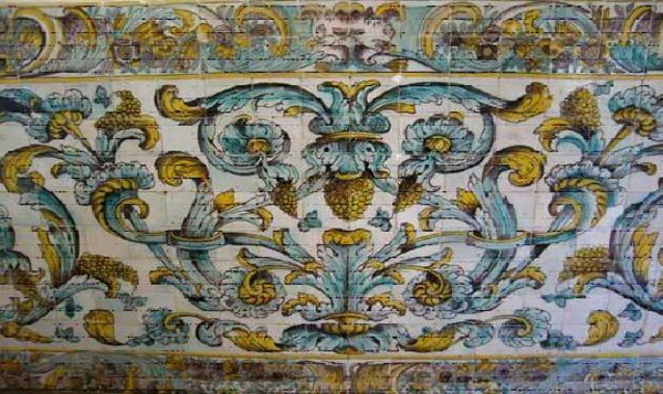 602 melhores imagens de azulejos em pal cios e igrejas for Azulejos conde