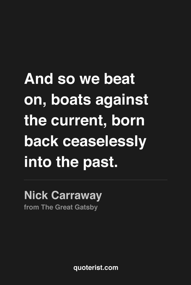 the role of nick carraway in the great gatsby by f scott fitzgerald F scott fitzgerald's novel jay mcinerney: why gatsby is so great without the editorial consciousness of fitzgerald's narrator nick carraway.