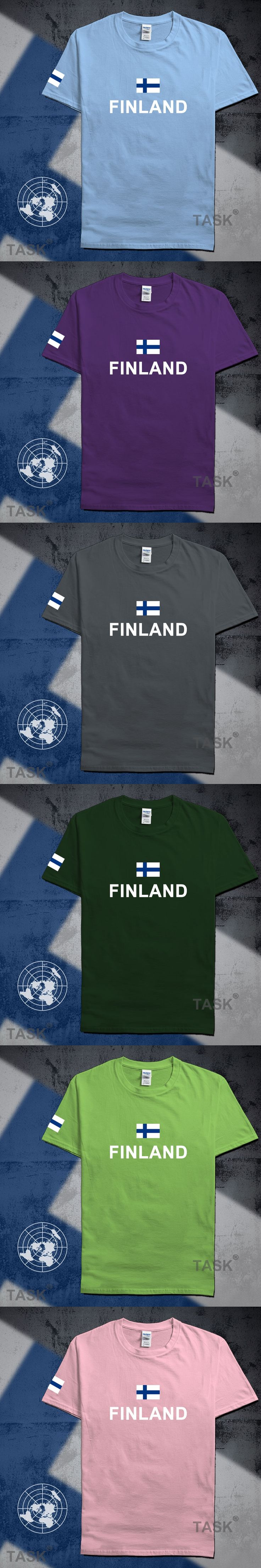 Finland mens t shirts fashion 2017 jersey hip hop nations cotton t-shirt meeting fitness brand clothing tee country flag FIN FI