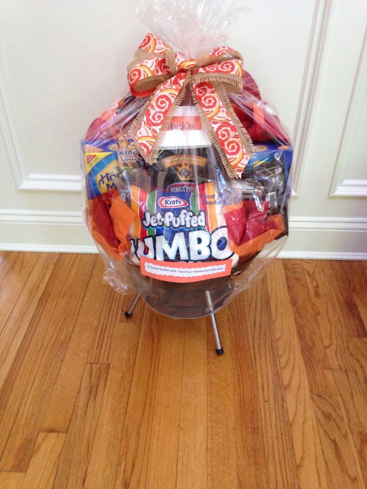 S Mores Gift Basket Cool Ideas Pinterest Basket