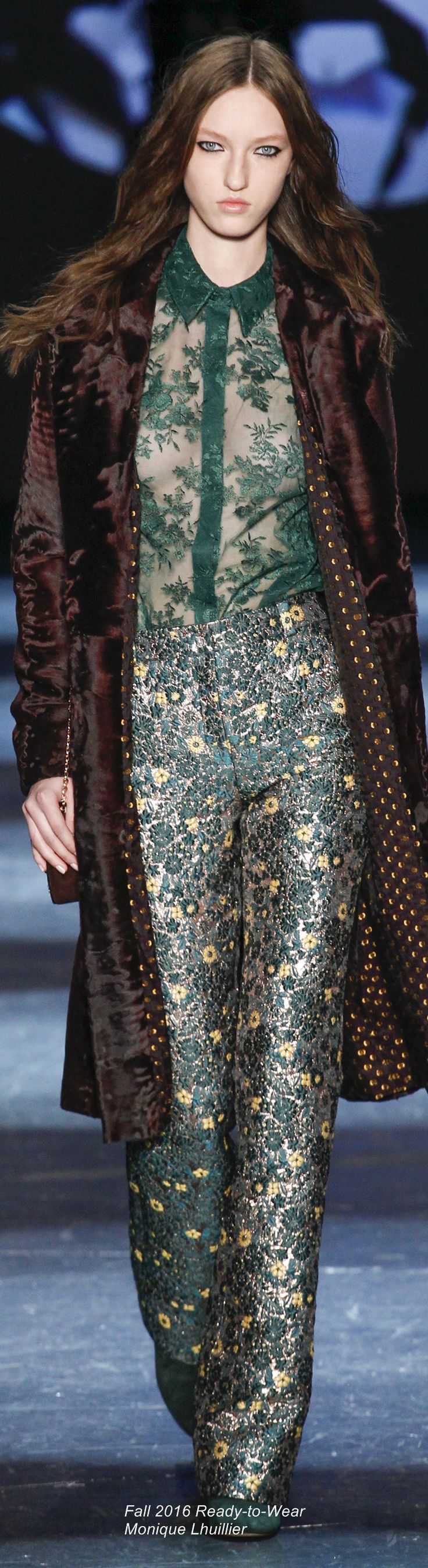 Fall 2016 Ready-to-Wear Monique Lhuillier