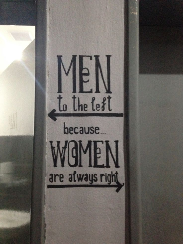 Toilet sign in a beer garden in my country