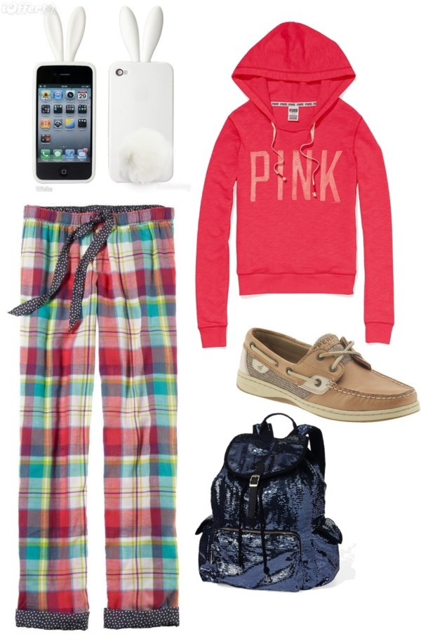 """PJ Day at School"" by kaceytayler on Polyvore"